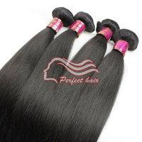 Hot Selling Malaysian Perfect Hair 4pcs 6A Malaysian Virgin Hair Straight Extension Wholesale Human Hair Weaves