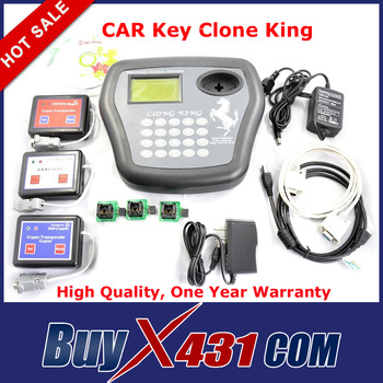 2013 Best Quality CAR Key Clone King 4D Transponder Chip Programmer Auto Key Maker Copier + DHL Free Shipping