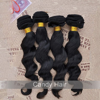 grade 5a queen weave loose wave hair extensions 4pcs mixed lot brazilian virgin hair weave unprocessed dyable dhl free shipping