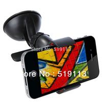Mobile Phone Holder Rotating 360 Degree Car Mount Bracket Holder for Cellphone GPS MP4 PDA
