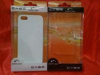 Universal Design 4 Colors Transparent Plastic Retail Packaging Box for iPhone 4 4S 5 5C 5S Cases, 200pcs/lot