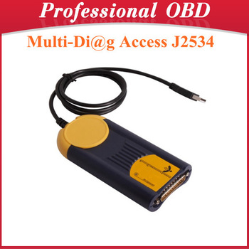 High Quality Multi-Di@g Access J2534 Pass-Thru OBD2 Device V2011 with Fast Shipping
