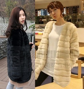 Free Shipping , women's winter clothing new 2013 fashion Rabbit hair short fur coat three color hot selling jackets women c138