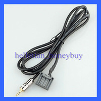 Aux Cable Audio Cable Gold 3.5mm Plug for Honda CRV 2007 Civic 8th Generation Accord