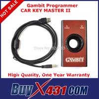 2014 Gambit Programmer Car Key Master II Auto Transponder Chip RFID Key Programmer + Free Shipping
