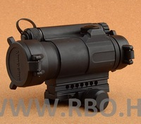 2014 rifle dot rushed leapers rifle scope m4 1x35 sight scope 20mm weaver rail mount free shipping r5565