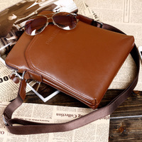 2013 new PU leather men's shoulder bag leisure bag Korean fashion business bag Messenger bag handbag