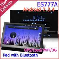 WholeSALE ES777A  Android 23.5 CAR PC Radio Multimedia DVD Tablet Audio Stereo WiFi 3G IPOD 1G CPU 512M DDR GPS FREESHIPPING