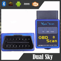 MINI ELM327 V1.5 Bluetooth ELM 327 OBDII OBD-II OBD2 Protocols Auto Diagnostic Scanner Tool MINI327 OBD Scan