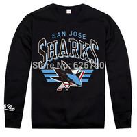 San Jose sharks sweatshirt los angeles kings sweats hip hop Rock skateboard hoodie men leisure hoody hockey sportswear clothes