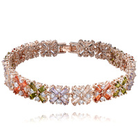 new arrival graceful crystals series female ornaments hand bracelets delicate design luxury jewelry free shipping
