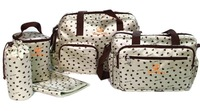 5PCS/Set High Quality Tote Baby Shoulder Diaper Bags Durable Nappy Bag Mummy Mother Baby Bag