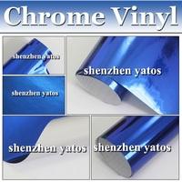 Good quality chrome vinyl sticker/ chrome stickers 3m   1.52x30M