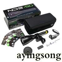 LASER GENETICS ND3X50 Long Distance Green Laser Designator Flashlight (ND3X50)