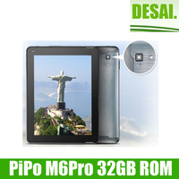 HIgh quanlity Brand PIPO M6 3G tablet pc 9.7 inch Retina 2048x1536 Quad core RK3188 1.6GHz 5.0MP Camera Flashlight Autofocus