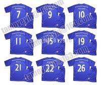 Children Latest 2014-15 Premier League Blue Legion Child Chelsea Home blue soccer jersey HAZARD TORRES OSCAR WILLIAN SCHURRLE