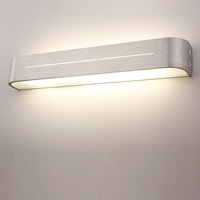 85-265V  14W  Led mirror light modern brief bathroom lights mirror lamp aluminum bedroom wall lamp  Free Shipping