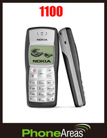 Free GIFT Refurbished Nokia 1100 cheap 2G GSM Dualband classic Mobile Phone