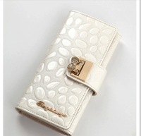 Free Shipping+2013 new original cute bow wallet women / lady wallet  C073