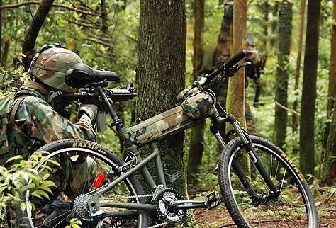 Humvees Hummer Lead the Way bicycle beam saddle bag general montague bicycle hummer military bike bag(China (Mainland))