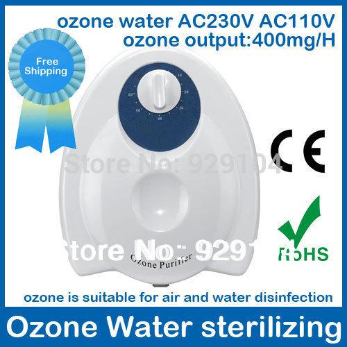 water and air ozonator ozone generator water fruit and vegetable washer cleaner sterilizer best ozone purifier ozonizer(China (Mainland))