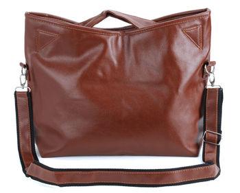 Elegant women totes handbag oblique satchel shoulder bag with 3 Colors#S2
