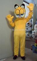 HOT-Custom Products Plush Cartoon Character Costume mascot Garfield Halloween Outfits Free Shipping