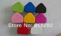 Hot sale!! White Black Red Pink Blue Green Yellow Hot-pink colors UK Plug Wall USB Charger adapter for mobile phone 15pcs/lot