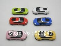 HOT Wholesale Stylish Mini Card MP3 Player, Free Shipping 100pcs/lot Music Player Beautiful Car MP3