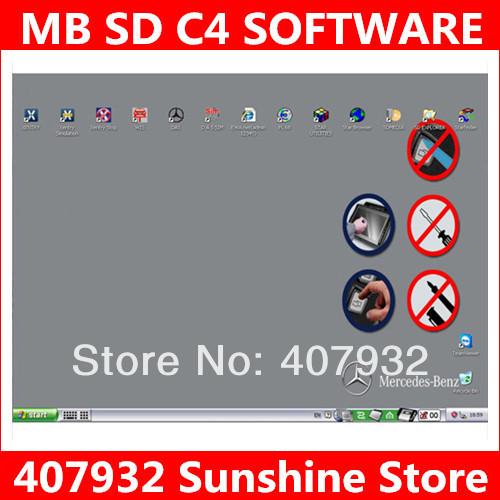 Программное обеспечение для диагностики авто и мото MB C4.11 D630 SD C4 SD 4 DHL
