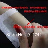 EMS Free Shipping 400pcs Hair Removal Depilatory Nonwoven Epilator Wax Strip Paper Pad Patch Waxing Hair Epilator