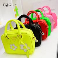 big sale ladies' bag flower for perfume handbag fashionable tassels cute wristlets bags for children,s19