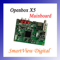 1pc motherboard X5 for Original Openbox x5 satellite receiver mainboard X5  free shipping post
