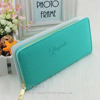 Fashion Bag PU medium-long style female coin purse single zipper Wallets clutch bags wallet woman hangbag free shipping