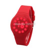 1PCS/lot Free & drop shipping 2014 hot sales high-quality fashion men women gifts brand leather sports quartz wristwatch