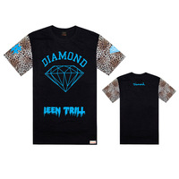 diamond supply co t-shirts for men free shipping fashion hip hop cool t shirt 2014 new style discount hip hop clothing brand