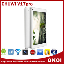 Chuwi v17pro RK3026 Cortex A9 Dual Core Tablet 7 inch 1024x600 Multi Touch Screen 8GB ROM Wifi Android 4.2(China (Mainland))
