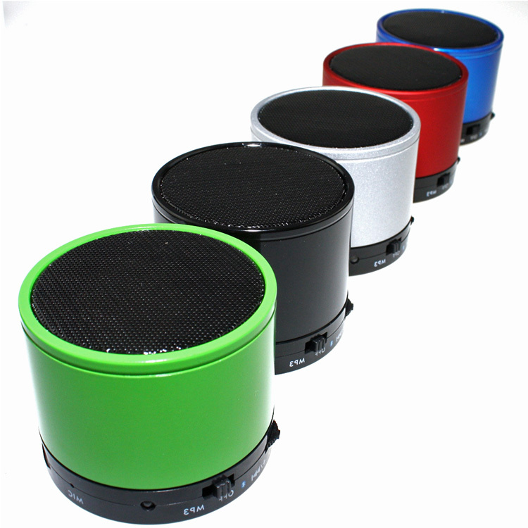 portable Mini Bluetooth Music Player Handsfree Bluetooth Speaker Wireless Speaker Phone MP3 with MIC and TF Slot Free Shipping(China (Mainland))