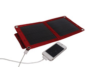 "Free Shipment 6W Solar Panel built-in Voltage Controller plus 10-in-1 USB Charge Cable for 5.5"" large TouchScreen phones charge"