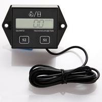 Hour meter tachometer tach digital LCD  atv motorcycle generator outboard