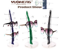 [YUCHENG]POP acrylic sunglasses counter display with free ship many colors for your choice 4pcs/lot Y081-4