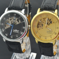 Men Male Mechanical Quality Leisure Authentic Hollow Out  Ancient Business Wrist Watch # L05421