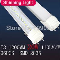 T8 led tube 1200MM 20W,AC85-265V,100led/pcs,SMD2835,warranty 2 years,SMTB-16-7