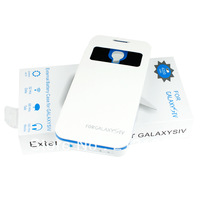 Free Shipping 4200mah External Back Battery Case Portable Mobile Charger Power Pack For Samsung Galaxy SIV S4 i9500