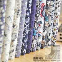 Free shipping 12 cotton prints cloth costumiers 100% poplin handmade diy
