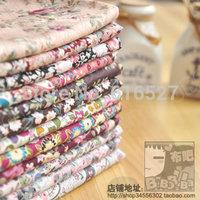 Free shipping temptation 12 cotton prints cloth cotton cloth cotton costumiers 100% poplin handmade diy