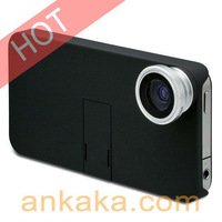 0.67X Fish Eye Wide Angle Add-On Lens with Macro for iPhone/Cell Phones/Samsung and Digital Cameras