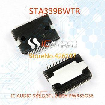 STA339BWTR IC AUDIO SYS DGTL 2.1CH PWRSSO36 339 STA339 3pcs