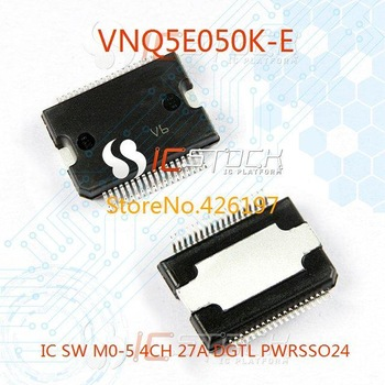 VNQ5E050K-E IC SW M0-5 4CH 27A DGTL PWRSSO24 050 VNQ5E050K 3pcs