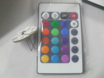 Remote control dimmer RGB G4 led